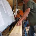 pre-cut log