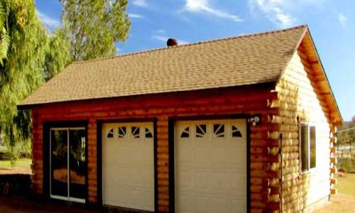 3 Car Garage Exterior 1