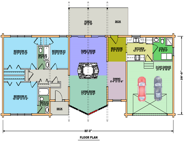 Californian Floor Plan