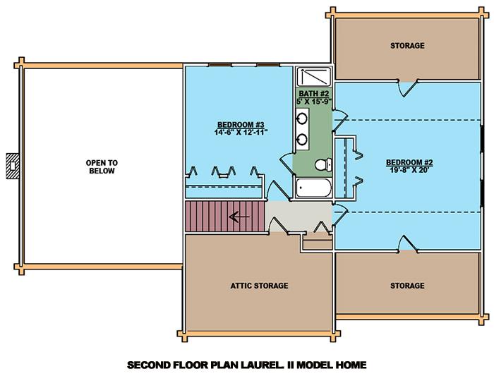 Laurel II Second Level