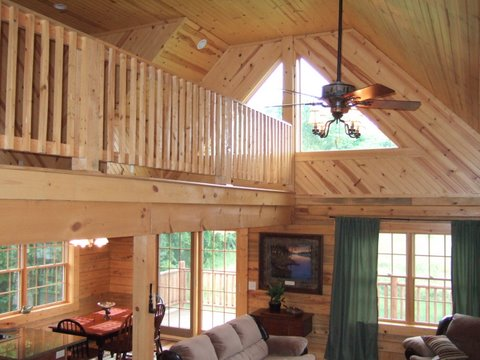 Custom Home Loft 2