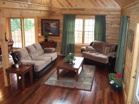 Custom Home Living room 2
