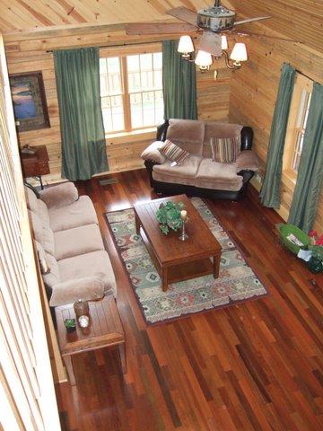 Custom Home interior, living room