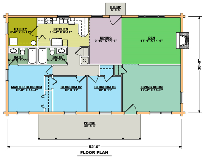 Saratoga Floor Plan